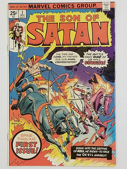 Son Of Satan 1 VF 1st Solo Series