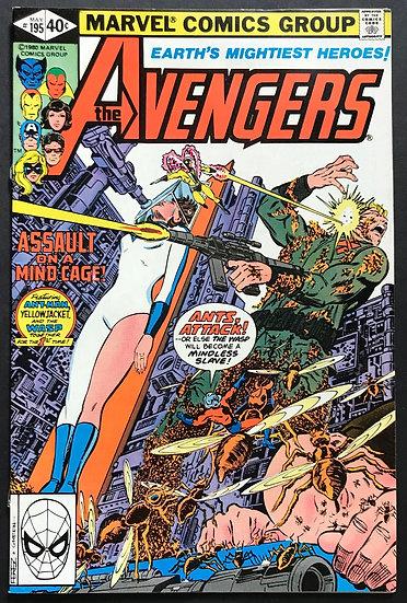 Avengers (Marvel) #195 FN