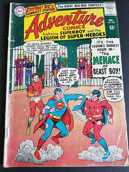 Adventure Comics (1938 1st Series) #339 VG