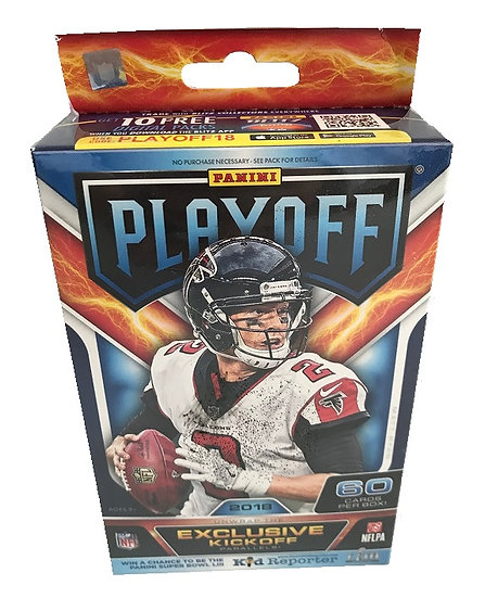 2018 NFL Playoff Hanger Box By Panini
