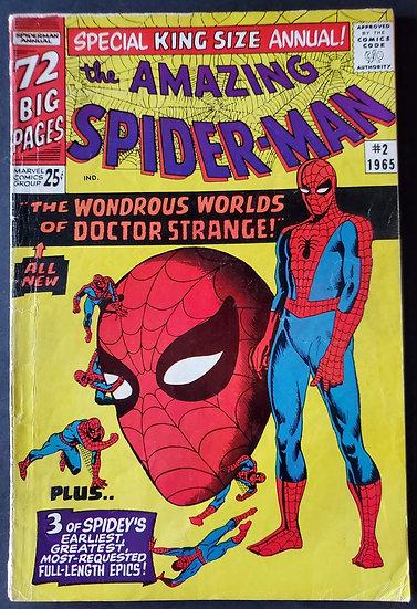 Amazing Spider-Man (1963 1st Series) Annual #2 VG+