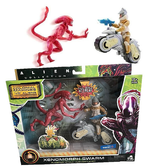 Alien Xenomorph Swarm Series Xenomorph Runner Battle Set Exclusive