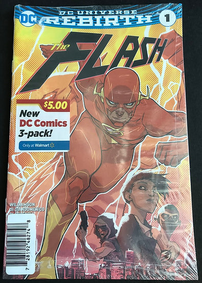 Flash (2016 5th Series) #1 WALMART NM