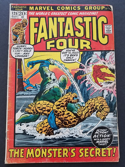 Fantastic Four (1961 1st Series) #125 VG