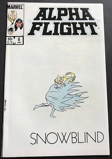 Alpha Flight #6 (Marvel) NM