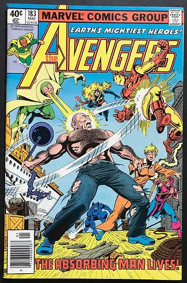 Avengers (Marvel ) #183 NM [Ms. Marvel joins Avengers.]