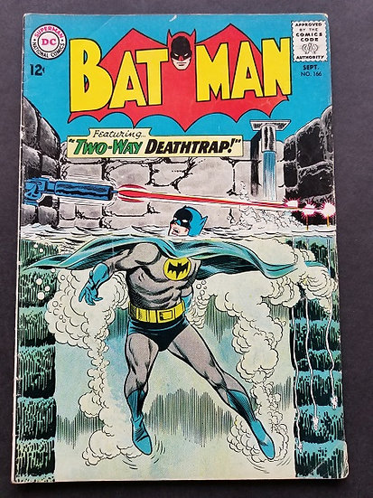 Batman (1940) #166 VG+