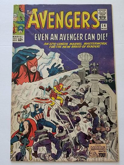 Avengers (Marvel ) #14 VG+