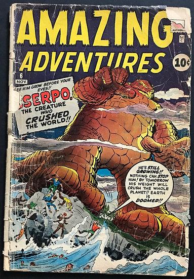 Amazing Adventures #6 FR/GD