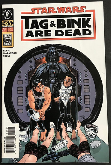 Star Wars Tag and Bink are Dead (2001) #1 VF/NM
