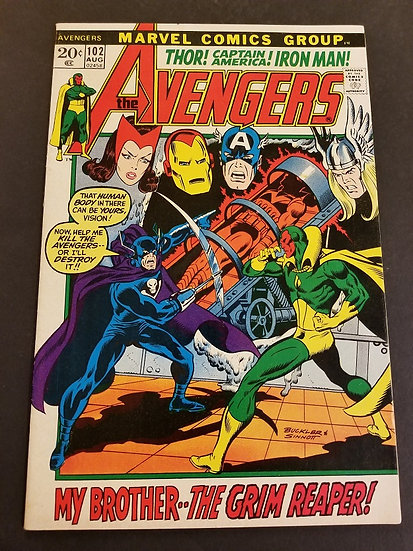 Avengers (1963 1st Series) #102 VF/NM