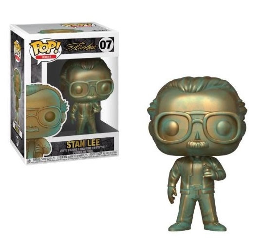 Funko Pop Icon Stan Lee [Patina] 07