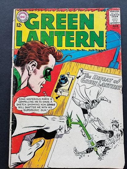 Green Lantern (1960-1988 1st Series DC) #19 GD/VG