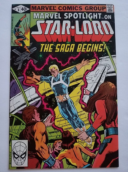Marvel Spotlight (1979 2nd Series) #6 [Volume 2 NM- 1st Starlord in Comic Book]