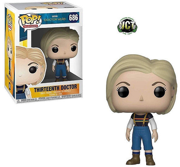 BBC Doctor Who Thirteenth Doctor 686