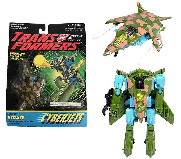 1994 Transformers Crberjets Autobot Strafe Figure