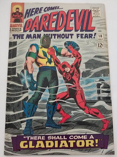 Daredevil (1964 1st Series) #18 VF- [1st Appearance of Gladiator]