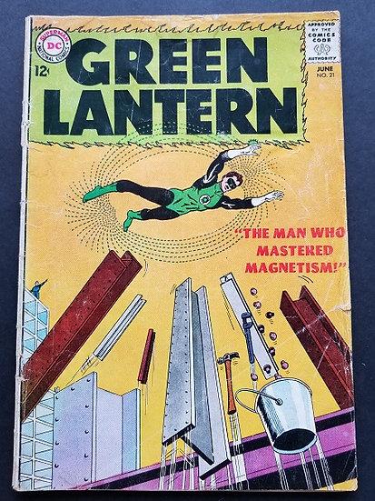 Green Lantern (1960-1988 1st Series DC) #21 GD+