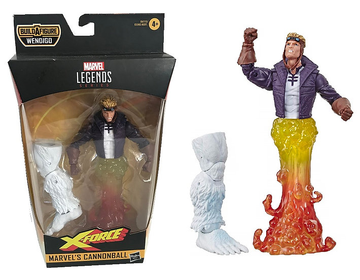 """Marvel Legends Series X-Force Marvel's Cannonball 6"""" Action Figure"""