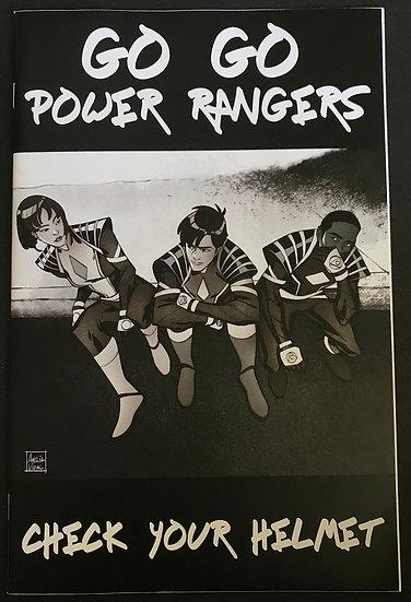 Go Go Power Rangers (2017 Boom) #30C NM [1:20 Amelia Vidal Variant]