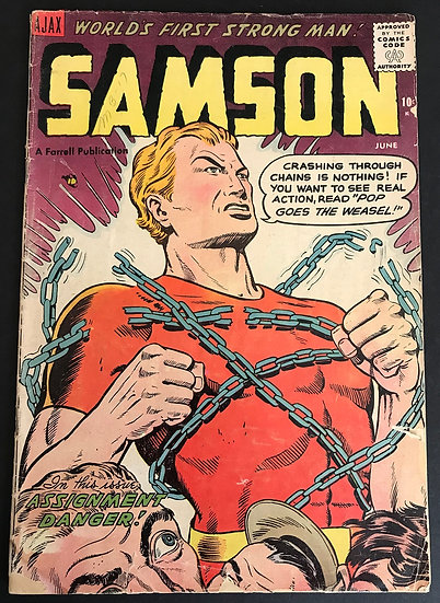Samson (1955 Ajax) #13 GD+
