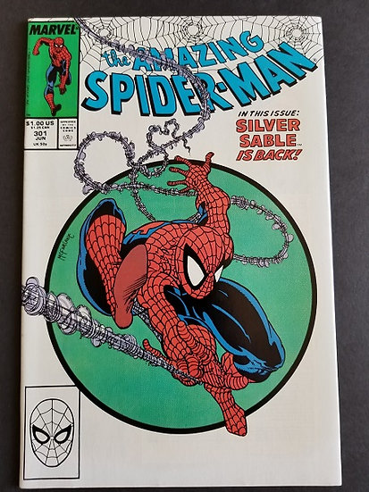 Amazing Spider-Man 301 NM- Classic McFarlane cover