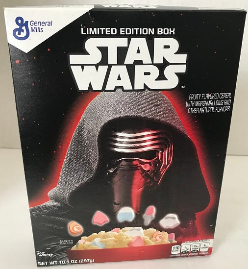 Disney Collectible Limited Edition Star Wars Cereal Box