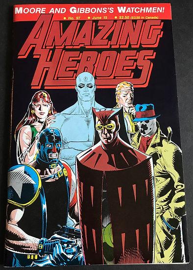 Amazing Heroes #97 (Fantagraphics) NM-