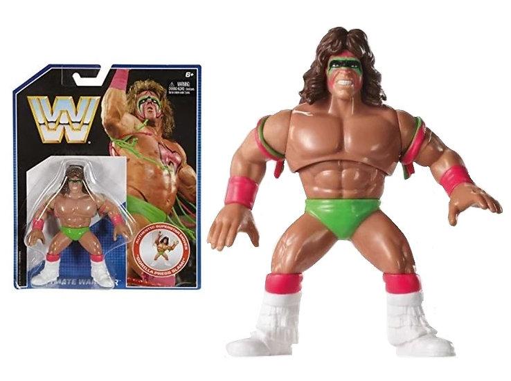 WWE Wrestling Superstar Ultimate Warrior Gorilla Press Slam Mattel