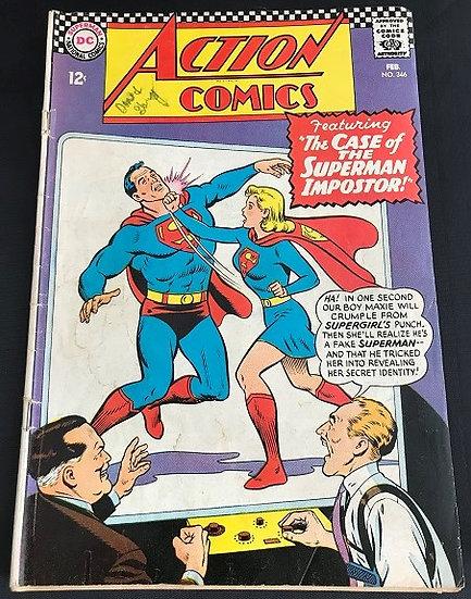 Action Comics #346 VG