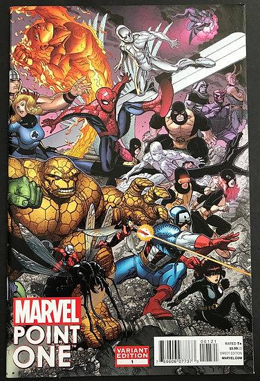 Point One (2011 Marvel) #1 [1st appearance of Nova (Sam Alexander)]