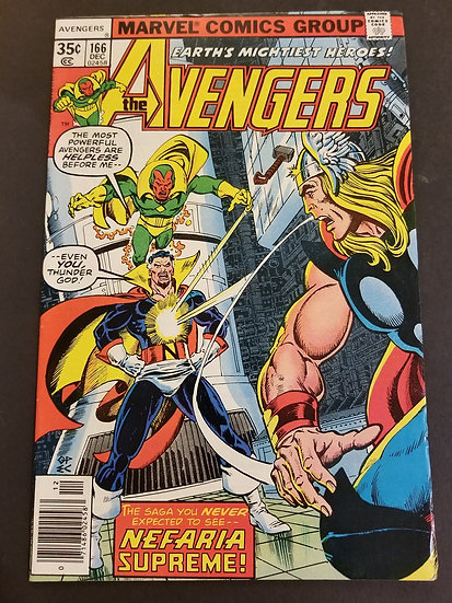 Avengers (Marvel ) #166 VF+
