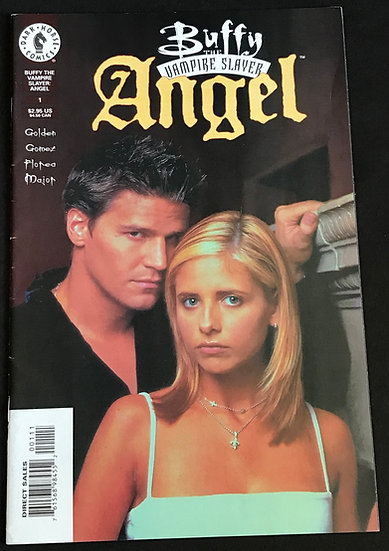 Buffy the Vampire Slayer Angel (Dark Horse) #1 VF+