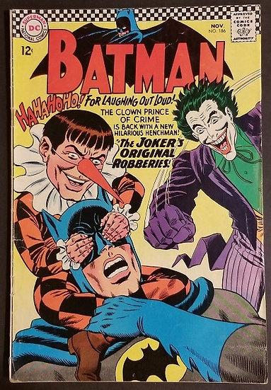 Batman (1940) #186 FN+