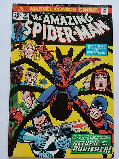 Amazing Spider-Man (Marvel) #135 VF [2nd Appearance of The Punisher]