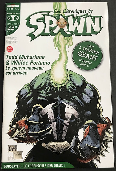 Spawn (2009) #185  VF/NM [#23 French Variant Cover]