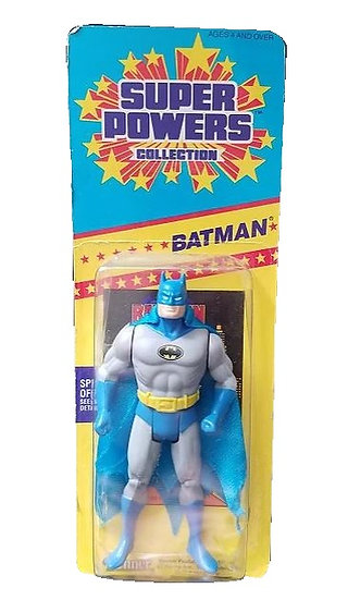 1985 Kenner Super Powers Batman is mint on the card. [MOC]