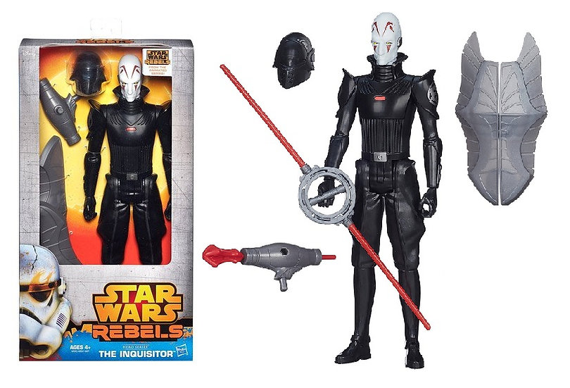 "Star Wars Hero Series 12"" The Inquisitor Figure"