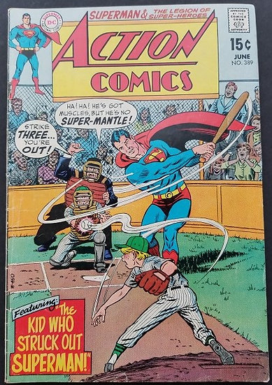 Action Comics #389 FN