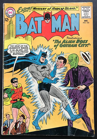 Batman #160 VG+