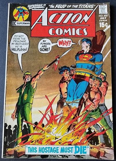 Action Comics (1938 DC) #402 FN