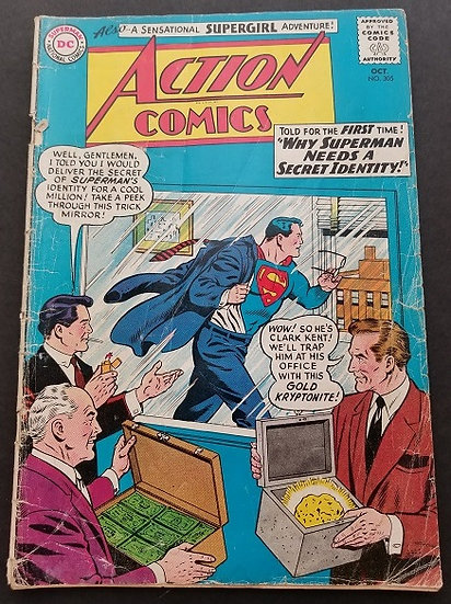 Action Comics #305 GD/VG