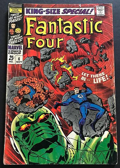 Fantastic Four Annual 6 VG