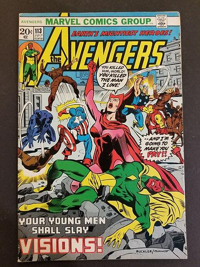 Avengers 113 FN/VF