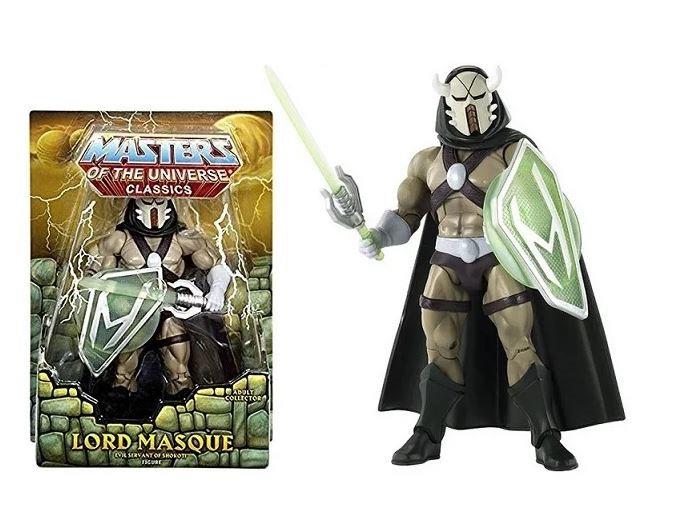 Master Of The Universe Classics Lord Masque Evil Servant Of Shokoti Figure