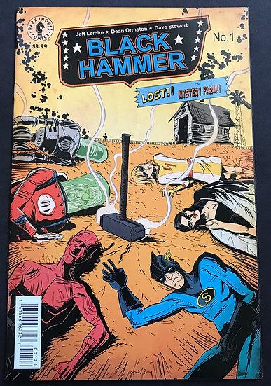 Black Hammer 1 NM B Cover