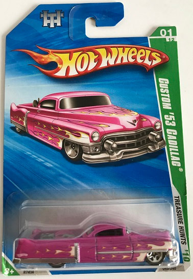 Hot Wheels Treasure Hunts 10 Custom '53 Cadillac- 045/240 New Sealed