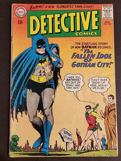 Detective Comics (1937 1st Series) #330 VG-