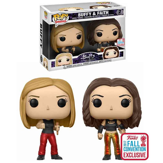 Buffy The Vampire Slayer Buffy And Faith 2Pack NYCC2017 Exclusive