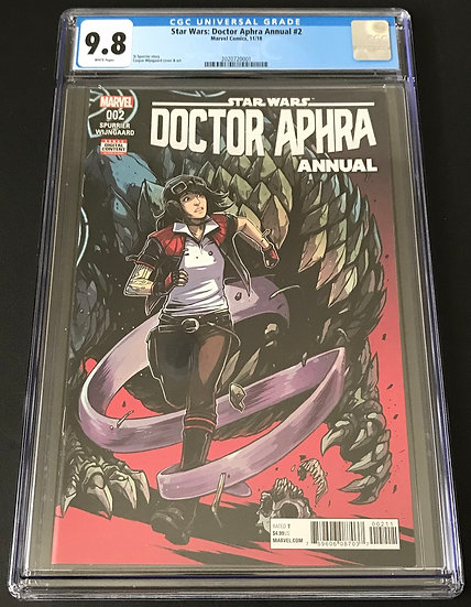 Star Wars: Doctor Aphra Annual 2 CGC 9.8 White Pages
